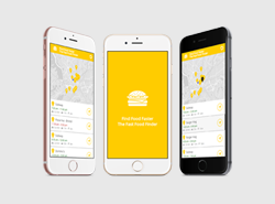 Find Food Faster Android App Preview