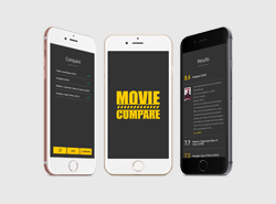 Movie Compare Android App Preview